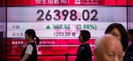 Hong Kong: Stocks edge up on open on Monday