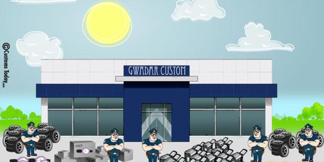 Gwadar Customs seizes smuggled goods worth Rs20m