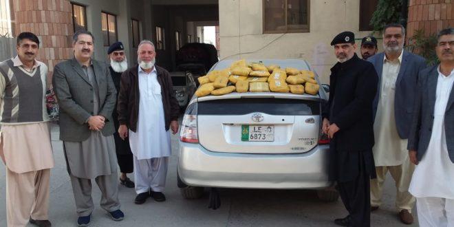 Peshawar I&I foils bid to smuggle narcotics near Rashakai Interchange