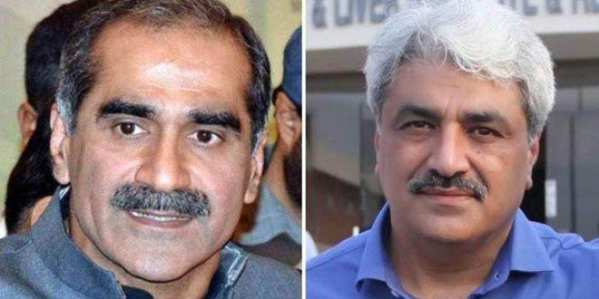 NAB detains Khawaja Saad Rafiq & Salman Rafique in Paragon Housing scam