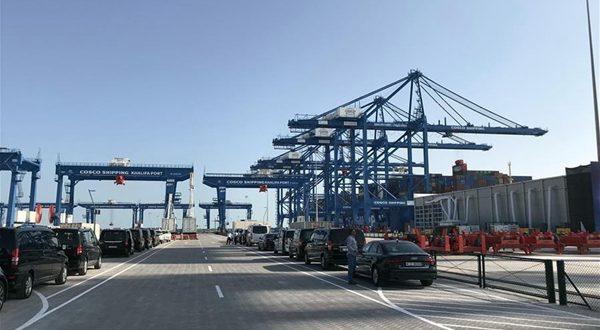 China's CSP, Abu Dhabi Ports launch new terminal