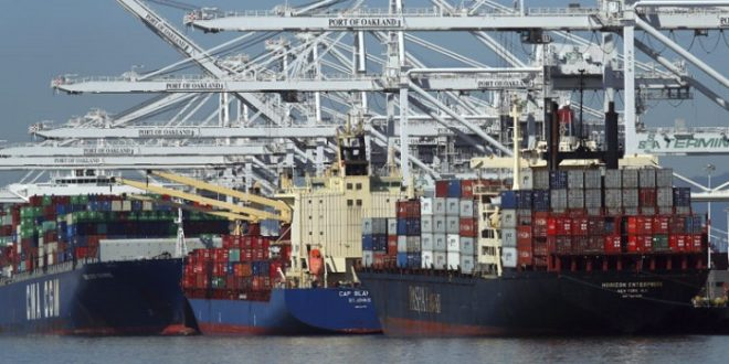 Shipping activity at Port Qasim Feb 3