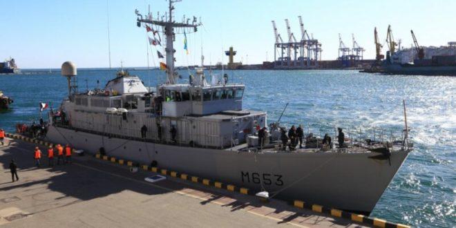 French warship is latest NATO vessel to visit Ukraine