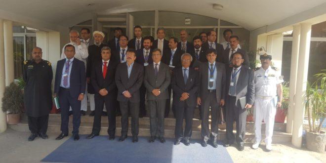 Participants of 25th SMC visit Customs House Peshawar