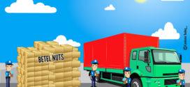 DG Khan ASO seizes huge quantity of smuggled betel nuts