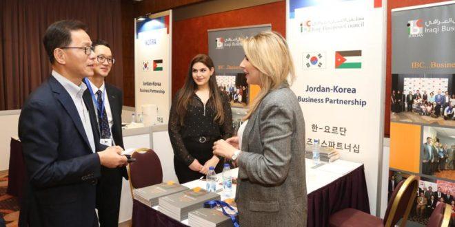 Korean, Jordanian businessmen discuss cooperation