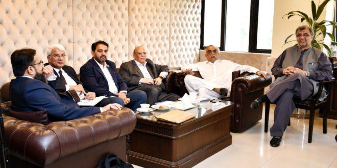 Presidents of different chambers calls on FBR Chairman Shabbar Zaidi