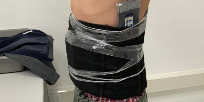 Hong Kong man caught smuggling 80 handphones through customs