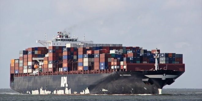 KPT handles deepest drought vessel 'APL CHONGQING'