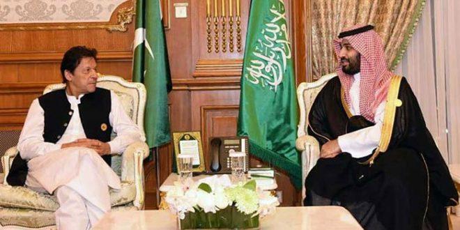 PM Imran meets Saudi crown prince, discusses bilateral ties