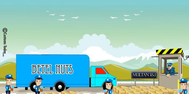 Multan I&I seizes smuggled betel nuts from Sadiqabad