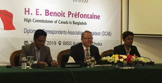 Canada seeking to expand trade with Bangladesh