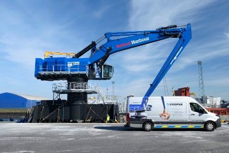Belfast Harbour Takes Delivery On Mantsinen 300M