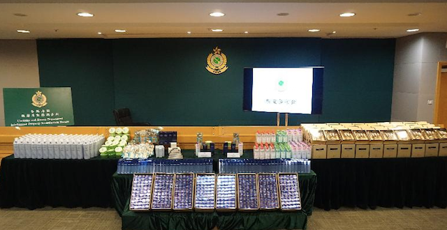 Hong Kong Customs smash two counterfeit cosmetics rings