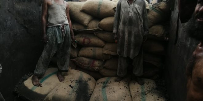Peshawar ASU seizes 190 bags of coal, vehicle worth Rs39.6m