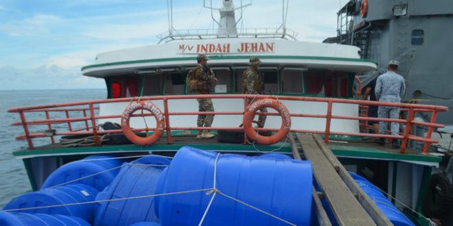 Navy seizes P12-M smuggled rice off Basilan
