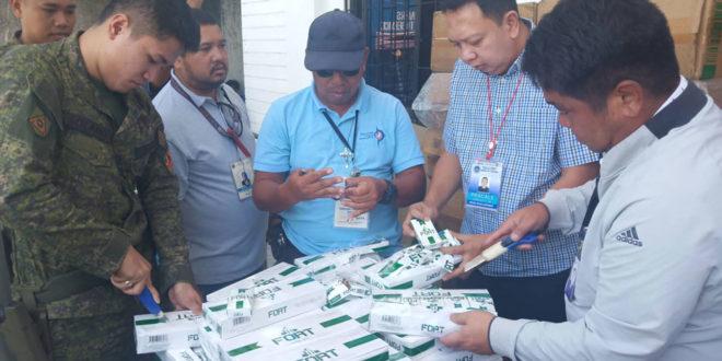 BOC destroys P2.3-M smuggled cigarettes in Zamboanga City