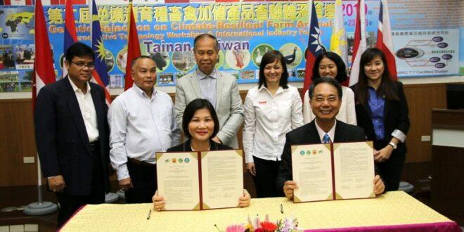 Taiwan, Vietnam ink MOU on husbandry cooperation