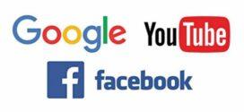 No response from Facebook, Google, YouTube