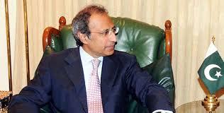 Pak envoy to UN Munir Akram calls on APM Hafeez Shaikh