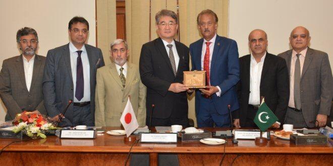 Pakistan, Afghanistan together offer huge market to Japanese business community: CG