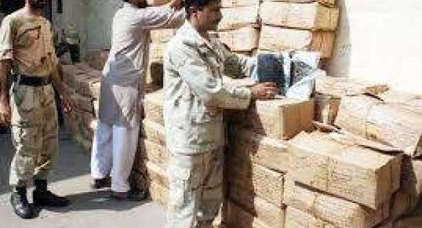 Peshawar Excise seizes huge quantity of hashish