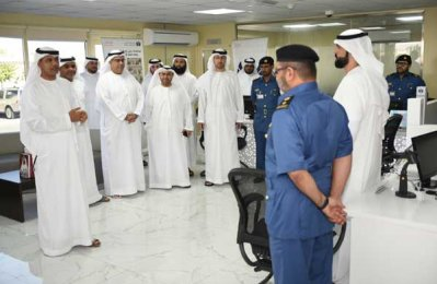 Dubai Customs official visits centres in Dubai Logistics City