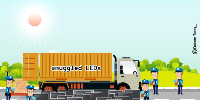 Faisalabad ASO seizes smuggled LEDs worth Rs70m