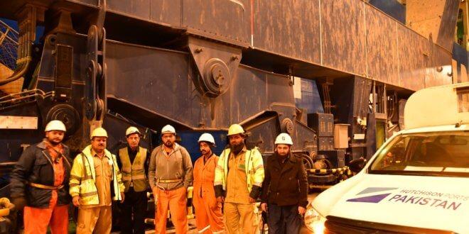 KPT handles largest ever container vessel COSCO Belgium