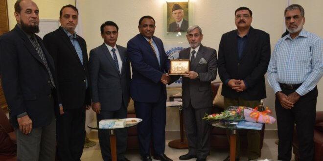 K.K. Ahsan for promoting direct trade between Pakistan, Muscat