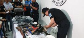 NAIA Customs confiscates guns, ammo in Pasay warehouse