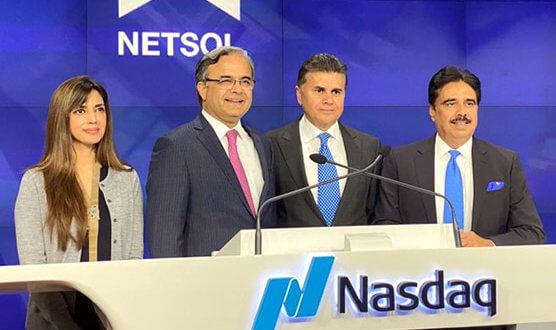 Pakistani envoy Asad Khan rings New York Stock Exchange's closing bell