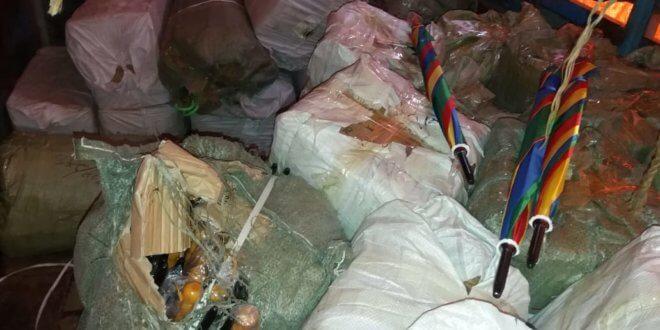 Kohat Customs seizes smuggled goods, vehicle Rs6.7m
