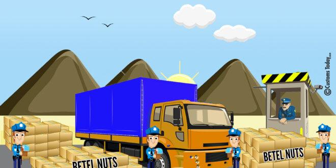 Multan Preventive seizes betel nuts worth Rs70m during raid