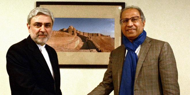 Iranian envoy, Hafeez Shaikh discuss ways to enhance trade ties