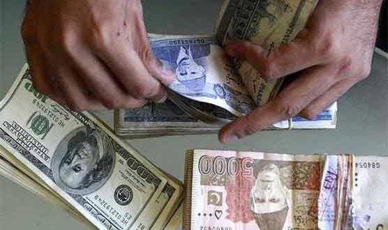 Dollar in interbank closes at Rs165.54