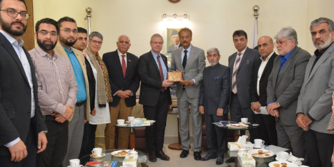 Belgian envoy keen to strengthen partnership with Pakistan