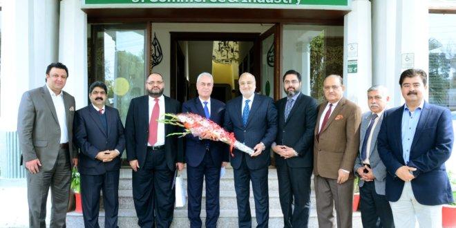 Palestine ambassador visits RCCI