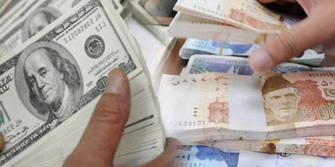 Pak Rupee gains eight paisas against US dollar