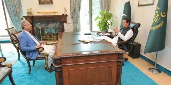 APM Hafeez Shaikh meets PM, apprises federal budget preparations