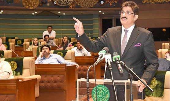 Sindh Budget 2020-21: CM Murad unveils Rs1241b budget