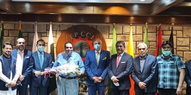 RCCI felicitates Iftikhar Malik on assuming charge as president SAARC Chamber
