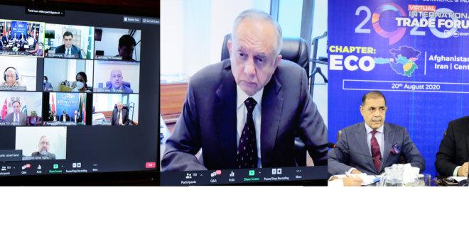 Pakistan keen to strengthen trade ties among ECO member countries: Dawood