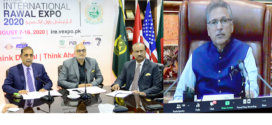 President Arif Alvi inaugurates RCCI Rawal Int'l Expo