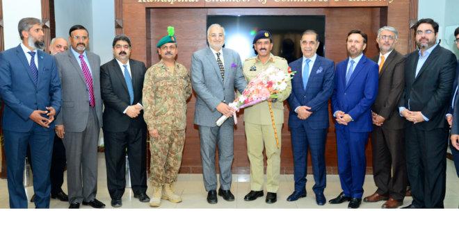 Station Commander Brigadier Ijaz Qamar Kayani visits RCCI