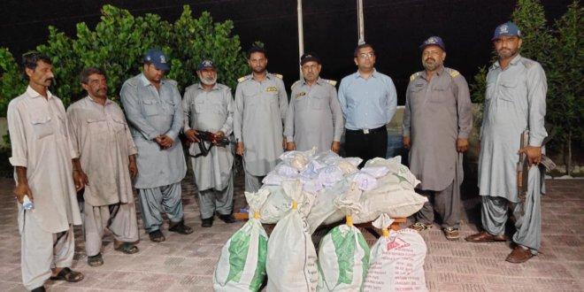 Gwadar Customs seizes 176kg brown heroin worth Rs1b