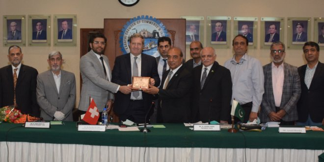 Pakistan needs to focus on improving exports to Switzerland: Envoy