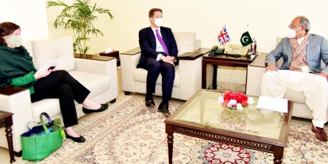 Pakistan keen to strengthen trade ties with UK: Hafeez Shaikh