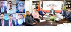RCCI organizes Virtual International Trade Forum (China, Hong Kong Chapters)