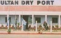 Multan Dry Port wears desert look after heavy rain